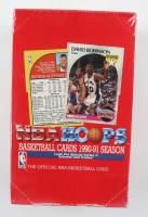 1990-91 NBA Hoops Basketball Box of (36) Packs at PristineAuction.com
