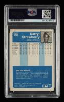 Darryl Strawberry Signed 1984 Fleer #599 RC (PSA Encapsulated) at PristineAuction.com