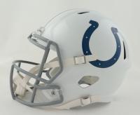 Darius Leonard Signed Colts Full-Size Speed Helmet (JSA COA) at PristineAuction.com