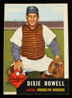 Dixie Howell 1953 Topps #255 at PristineAuction.com