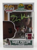Gary Payton Signed SuperSonics #80 Funko Pop! Vinyl Figure (PSA Hologram) at PristineAuction.com