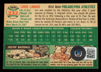 Lou Limmer Signed 1954 Topps #232 RC (Beckett COA) at PristineAuction.com