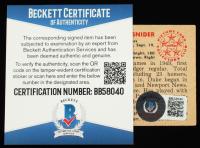 Duke Snider Signed 1950 Bowman #77 (Beckett COA) at PristineAuction.com