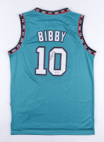 Mike Bibby Signed Grizzlies Game Jersey (PSA COA) at PristineAuction.com
