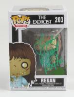 "Linda Blair Signed Pop! Movies ""The Exorcist"" #203 Regan Funko Pop! Vinyl Figure Inscribed ""Regan"" (JSA COA) at PristineAuction.com"