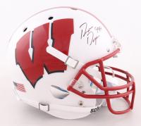 "Ron Dayne Signed Wisconsin Badgers Full-Size Helmet Inscribed ""99 H"" (Schwartz COA) (See Description) at PristineAuction.com"
