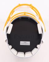"Kellen Winslow Signed Chargers Full-Size Speed Helmet Inscribed ""HOF 95"" (Schwartz COA) at PristineAuction.com"