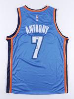 Carmelo Anthony Thunder Signed Jersey (PSA Hologram) at PristineAuction.com
