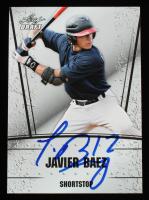 Javier Baez Signed 2011 Leaf Draft #22 (Beckett COA) at PristineAuction.com