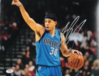 Seth Curry Signed Mavericks 11x14 Photo (PSA Hologram) at PristineAuction.com