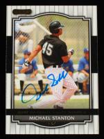 Giancarlo Stanton Signed 2008 Razor Signature Series #97 (Beckett COA) at PristineAuction.com