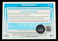 Javier Baez Signed 2011 Bowman Draft Prospects #BDPP6 (Beckett COA) at PristineAuction.com