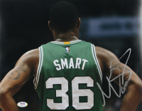 Marcus Smart Signed Celtics 11x14 Photo (PSA Hologram) (See Description) at PristineAuction.com