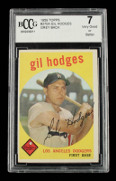 Gil Hodges 1959 Topps #270A (BCCG 7) at PristineAuction.com