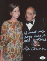 Ed Asner Signed 8x10 Photo with Inscription (JSA COA) at PristineAuction.com