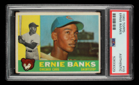 Ernie Banks 1960 Topps #10 (PSA Authentic) at PristineAuction.com