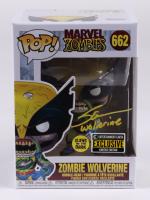 "Steve Blum Signed Pop! ""Marvel Zombies"" #662 Zombie Wolverine Funko Pop! Vinyl Figure Inscribed ""Wolverine"" (JSA COA) at PristineAuction.com"