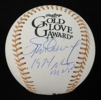 """Steve Garvey Signed Gold Glove Award Baseball Inscribed """"1974 NL MVP"""" (Beckett COA) at PristineAuction.com"""
