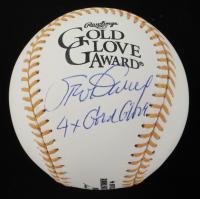 "Steve Garvey Signed Gold Glove Award Baseball Inscribed ""4x Gold Glove"" (PSA COA) at PristineAuction.com"