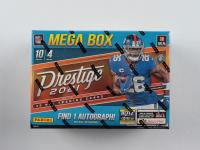 2021 Panini NFL Prestige Football Trading Card Mega Box with (4) Packs at PristineAuction.com