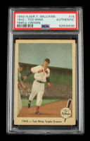 Ted Williams 1959 Fleer Ted Wins Triple Crown #19 (PSA Authentic) at PristineAuction.com