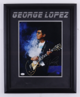 George Lopez Signed 18.5x22.5 Custom Framed Photo (JSA COA) at PristineAuction.com