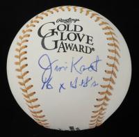 "Jim Kaat Signed Gold Glove Award Baseball Inscribed ""16x G.G's"" (PSA COA) at PristineAuction.com"