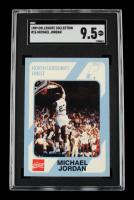 Michael Jordan 1989-90 North Carolina Collegiate Collection #16 (SGC 9.5) at PristineAuction.com