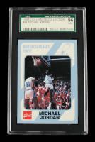 Michael Jordan 1989-90 North Carolina Collegiate Collection #14 (SGC 9) at PristineAuction.com