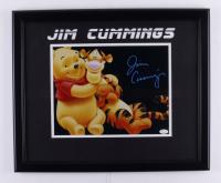 Jim Cummings Signed 18.5x22.5 Custom Framed Photo Display (JSA COA) at PristineAuction.com