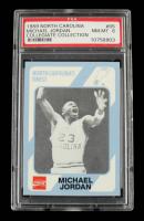 Michael Jordan 1989-90 North Carolina Collegiate Collection #65 (PSA 8) at PristineAuction.com
