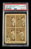Ted Williams 1959 Fleer Williams Hits .388 #58 (PSA Authentic) at PristineAuction.com