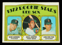 Mike Garman RC / Cecil Cooper RC / Carlton Fisk RC 1972 Topps #79 Rookie Stars at PristineAuction.com
