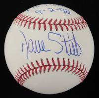 "Dave Stieb Signed OML Baseball Inscribed ""No Hitter 9-2-90"" (PSA COA) at PristineAuction.com"