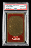 Hank Aaron 1965 Topps Embossed #59 (PSA Authentic) at PristineAuction.com