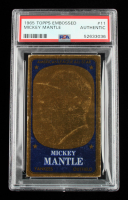 Mickey Mantle 1965 Topps Embossed #11 (PSA Authentic) at PristineAuction.com