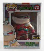 "Pat Fraley Signed Pop! Retro Toys ""Teenage Mutant Ninja Turtles"" #72 Krang Funko Pop! Vinyl Figure Inscribed ""KRANG"" (JSA COA) at PristineAuction.com"