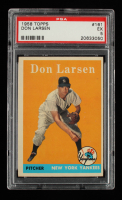 Don Larsen 1958 Topps #161 (PSA 5) at PristineAuction.com