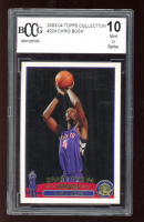 Chris Bosh 2003-04 Topps Collection #224 RC (BCCG 10) at PristineAuction.com