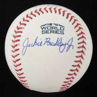Jackie Bradley Jr. Signed 2018 World Series Baseball (Fanatics Hologram & MLB Hologram) at PristineAuction.com