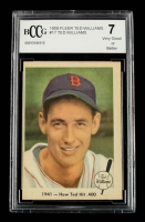 Ted Williams 1959 Fleer #17 How Ted Hit .400 (BCCG 7) at PristineAuction.com