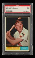 Brooks Robinson 1961 Topps #10 (PSA 7) at PristineAuction.com