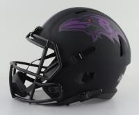 Odafe Jayson Oweh Signed Ravens Full-Size Eclipse Alternate Speed Helmet (JSA COA) (See Description) at PristineAuction.com