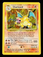 Charizard 1999 Pokemon Base Unlimited #4 Holo at PristineAuction.com