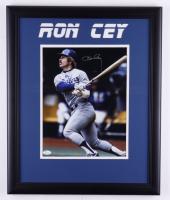 Ron Cey Signed 18.5x22.5 Custom Framed Photo Display (JSA COA) at PristineAuction.com