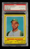 Reggie Jackson 1970 Transogram Statues #11B (PSA Authentic) at PristineAuction.com
