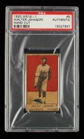 Walter Johnson 1920 W516-1 #8 (PSA Authentic) at PristineAuction.com