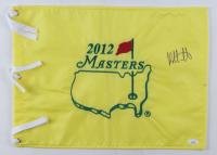 Bubba Watson Signed 2012 Masters Tournament Pin Flag (JSA COA) (See Description) at PristineAuction.com