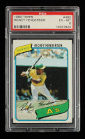 Rickey Henderson 1980 Topps #482 RC (PSA 6) at PristineAuction.com