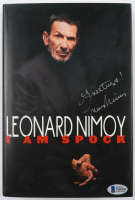 """Leonard Nimoy Signed """"I Am Spock"""" Hardcover Book Inscribed """"Greetings!"""" (Beckett COA) (See Description) at PristineAuction.com"""